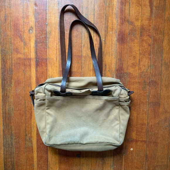 """Filson Other - Filson """"zip-up tote"""""""